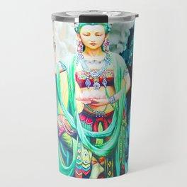 The Goddess of Mercy Travel Mug