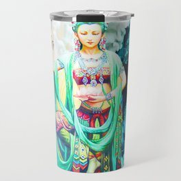The Goddess of Mercy Travel Mug