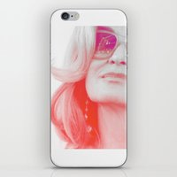 jessica lange iPhone & iPod Skins featuring Jessica Lange Quote by NameGame