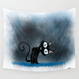 Coraline Wuss Puss Wall Tapestry