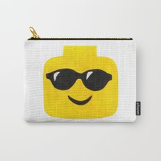 Sunglasses - Emoji Minifigure Painting Carry-All Pouch