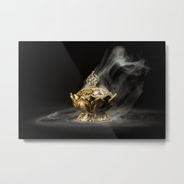 Magic lamp Metal Print