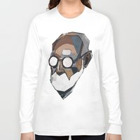 freud Long Sleeve T-shirts featuring Freud by PAFF