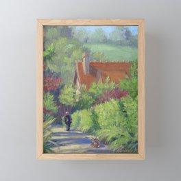 Gentle Soul — French Landscape Framed Mini Art Print