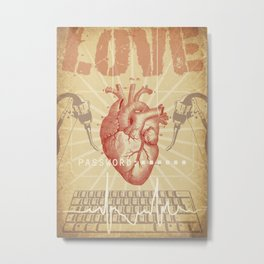 Love Connection Metal Print
