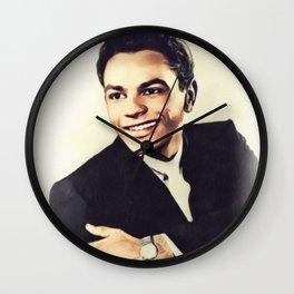 Johnny Mathis, Music Legend Wall Clock
