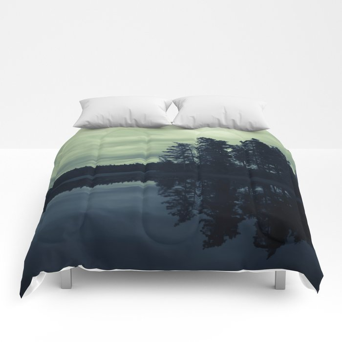 Lake by Night Comforters