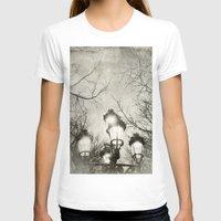 lantern T-shirts featuring Vintage Lantern by Victoria Herrera