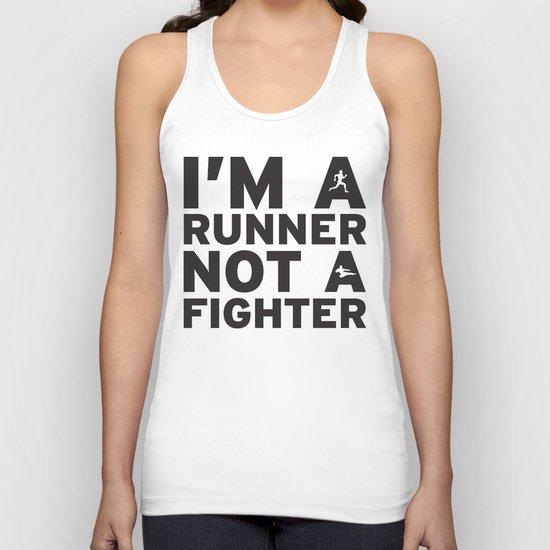 i'm a runner Unisex Tank Top