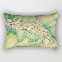 Connecting to Nature Rectangular Pillow