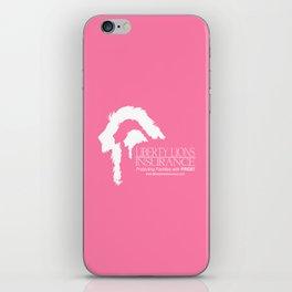 Liberty Lions Insurance iPhone Skin