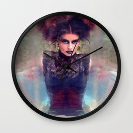 Dark Beauty  Wall Clock