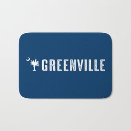 Greenville, South Carolina Bath Mat