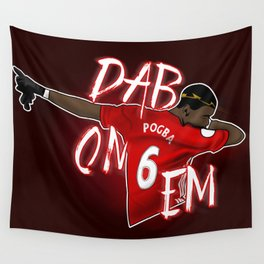 Pogba Wall Tapestry