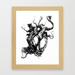 HeartTree Framed Art Print