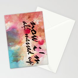 Tegan and Sara: Now I'm All Messed Up Stationery Cards