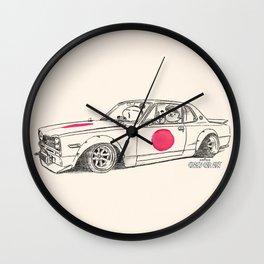 Crazy Car Art 0183 Wall Clock