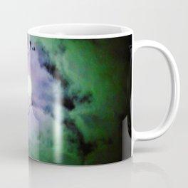 Mystic Moon Blue Green Coffee Mug