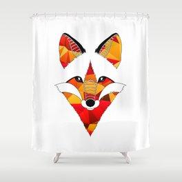 Fire Fox Shower Curtain