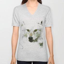 Mystical Wolf Unisex V-Neck