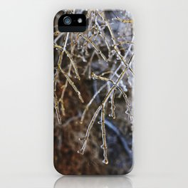 Icy Branches #4 iPhone Case