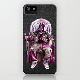 Notorious Big *King* iPhone Case