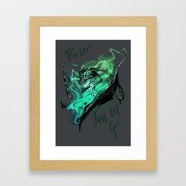 League of Legends- Thresh fanart Framed Art Print