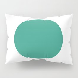 Go   Green Circle Pillow Sham