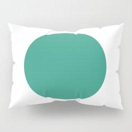 Go | Green Circle Pillow Sham