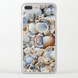 To Shell Or Not To Shell Clear iPhone Case