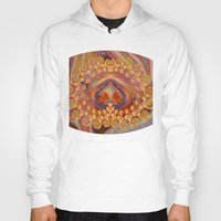 wine Hoodies featuring Summer Wine by EliB-Art
