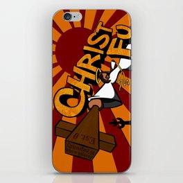 Christ Fu - Love Thy Unconscious Enemy iPhone Skin