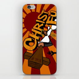 Christ Fu - Love Thy Unconscious Enemy iPhone Skin