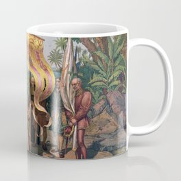 Columbus Landing in America Painting (1892) Coffee Mug