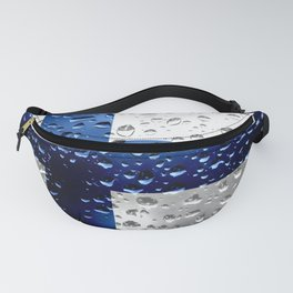 Flag of Finland - Raindrops Fanny Pack