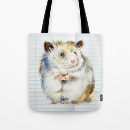 The small hamster Tote Bag