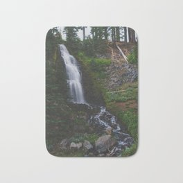Obsidian Falls - Pacific Crest Trail, Oregon Bath Mat