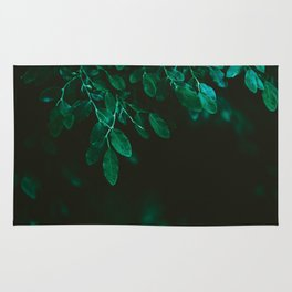 Huckleberry Leaves Rug