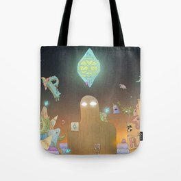 The Cosmic Giant Tote Bag