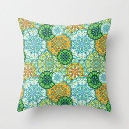 Lovely mandala Throw Pillow