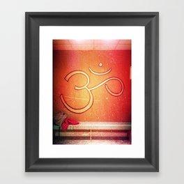 ohm Framed Art Print