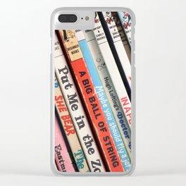 Beginner Books Clear iPhone Case