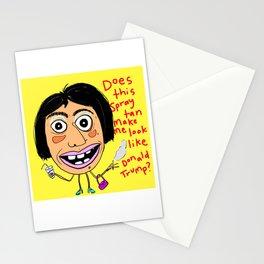 Spray Tan Mishap Stationery Cards