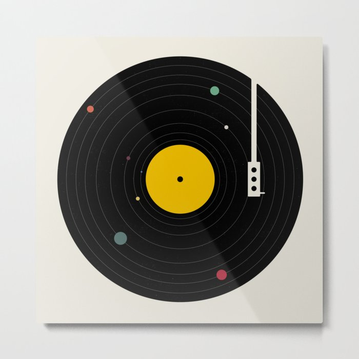 Music, Everywhere Metal Print