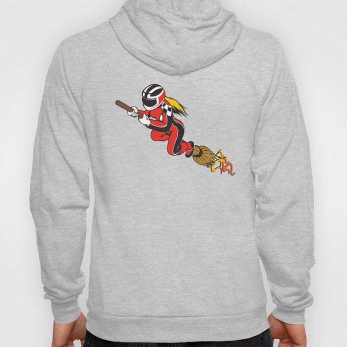 Broomstick Speeding Racing  Hoody
