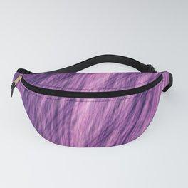 Purple Fir Fractal Fanny Pack