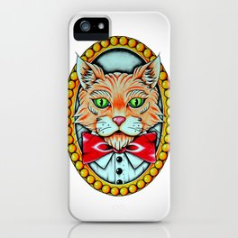 Mr Kitty  iPhone Case