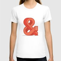ampersand T-shirts featuring Ampersand by Damien Faivre