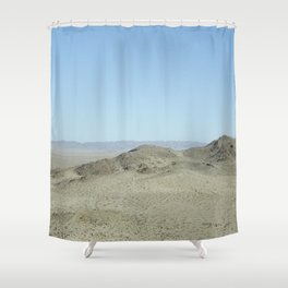 view from giant rock Shower Curtain
