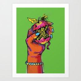 Rotton Art Print